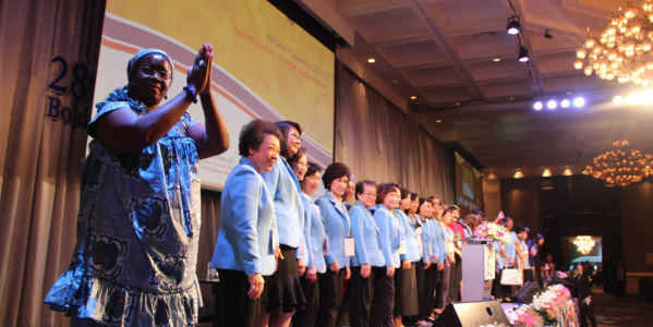 Watch video of the last World YWCA Council in Bangkok
